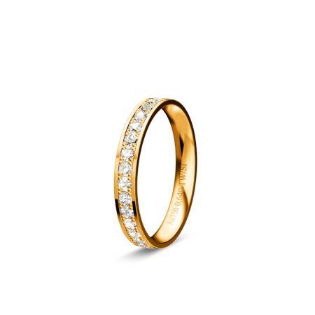 Memoire Zara - Gelbgold 750 - 0,640 Crt - TW/SI