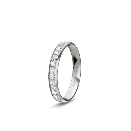 Memoire Line - Silber 925 - 0,640 Crt - Zirconia