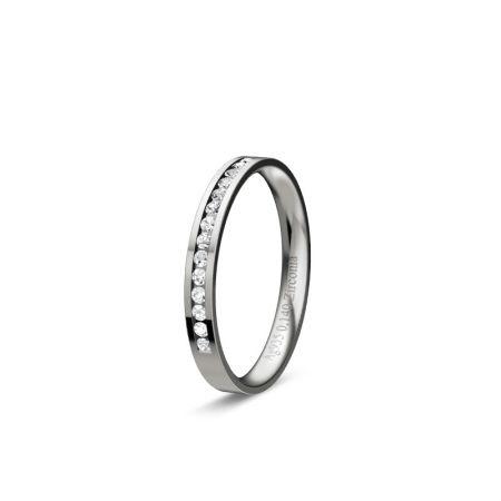 Memoire Zara I - Silber 925 - 0,140 Crt - Zirconia